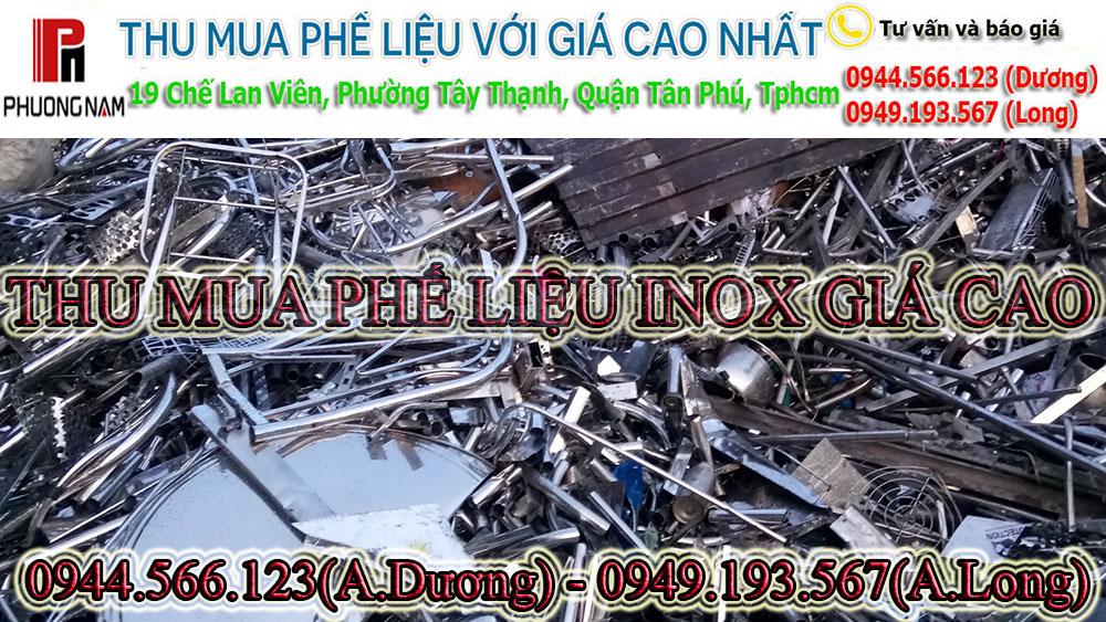 Thu mua phế liệu inox 430 giá cao và uy tín nhất Tphcm