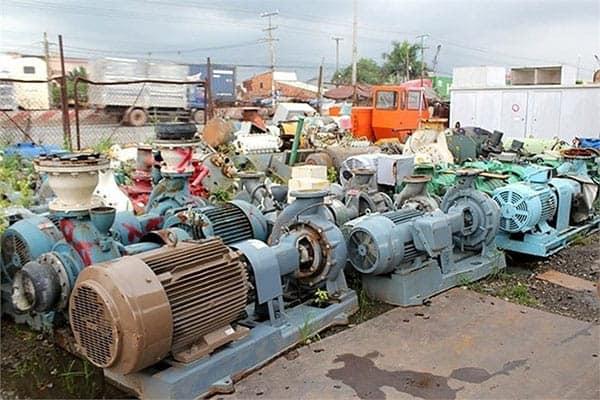 Thu mua phế liệu máy móc cũ